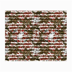Grunge Textured Abstract Pattern Small Glasses Cloth (2 Side) by dflcprints