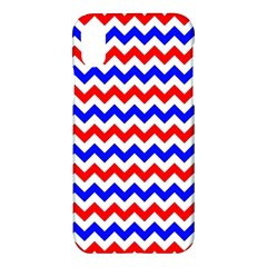 Zig Zag Pattern Apple Iphone X Hardshell Case by Celenk