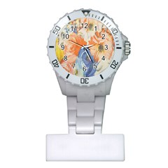 Texture Fabric Textile Detail Plastic Nurses Watch by Celenk