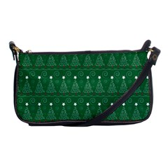 Christmas Tree Holiday Star Shoulder Clutch Bags by Celenk