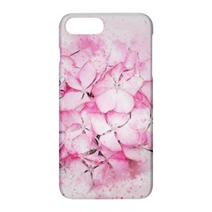 Flower Pink Art Abstract Nature Apple Iphone 8 Plus Hardshell Case by Celenk