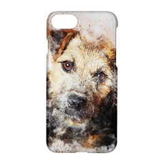 Dog Animal Pet Art Abstract Apple Iphone 8 Hardshell Case by Celenk
