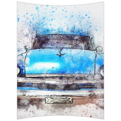 Car Old Car Art Abstract Back Support Cushion by Celenk