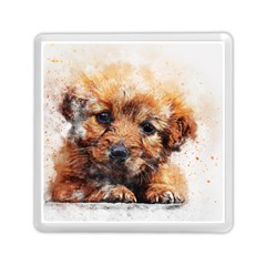Dog Puppy Animal Art Abstract Memory Card Reader (square)  by Celenk