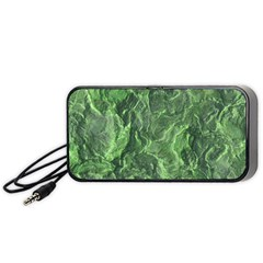 Geological Surface Background Portable Speaker