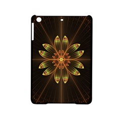 Fractal Floral Mandala Abstract Ipad Mini 2 Hardshell Cases by Celenk