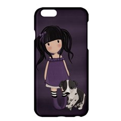 Dolly Girl And Dog Apple Iphone 6 Plus/6s Plus Hardshell Case by Valentinaart
