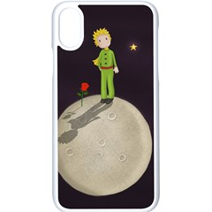 The Little Prince Apple Iphone X Seamless Case (white) by Valentinaart