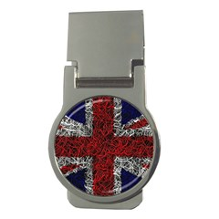 Union Jack Flag Uk Patriotic Money Clips (round)  by Celenk