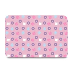 Milk And Donuts Pink Plate Mats by snowwhitegirl