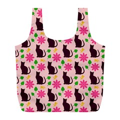 Outside Cats Full Print Recycle Bags (l)  by snowwhitegirl