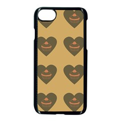 Cupcake Pumpkin Orange Grey Apple Iphone 8 Seamless Case (black) by snowwhitegirl