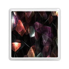 Crystals Background Design Luxury Memory Card Reader (square)  by Nexatart