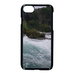 Sightseeing At Niagara Falls Apple Iphone 8 Seamless Case (black) by canvasngiftshop