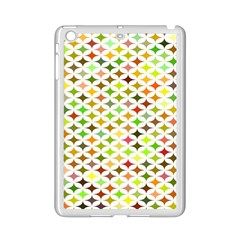 Background Multicolored Star Ipad Mini 2 Enamel Coated Cases by Onesevenart