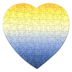 Sun Goes Down Jigsaw Puzzle (heart) by jumpercat