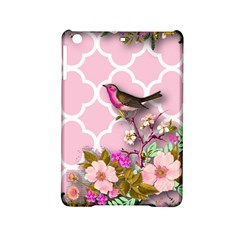 Shabby Chic,floral,bird,pink,collage Ipad Mini 2 Hardshell Cases