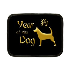 Year Of The Dog   Chinese New Year Netbook Case (small)  by Valentinaart