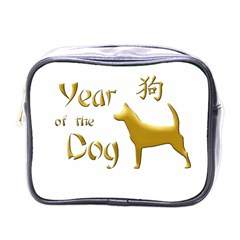 Year Of The Dog   Chinese New Year Mini Toiletries Bags by Valentinaart