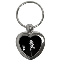 Frank Sinatra  Key Chains (heart)  by Valentinaart