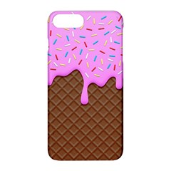 Chocolate And Strawberry Icecream Apple Iphone 8 Plus Hardshell Case by jumpercat