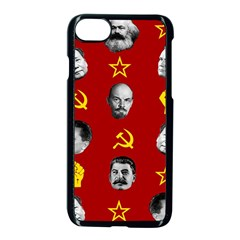 Communist Leaders Apple Iphone 8 Seamless Case (black) by Valentinaart