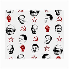 Communist Leaders Small Glasses Cloth (2 Side) by Valentinaart