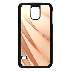 Background Light Glow Abstract Art Samsung Galaxy S5 Case (black) by Nexatart