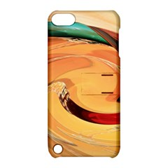Spiral Abstract Colorful Edited Apple Ipod Touch 5 Hardshell Case With Stand by Nexatart