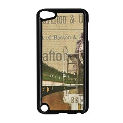 Train Vintage Tracks Travel Old Apple Ipod Touch 5 Case (black) by Nexatart