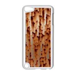 Stainless Rusty Metal Iron Old Apple Ipod Touch 5 Case (white)
