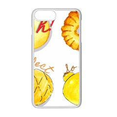Bread Stickers Apple Iphone 8 Plus Seamless Case (white) by KuriSweets