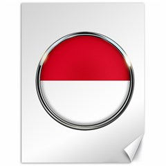 Monaco Or Indonesia Country Nation Nationality Canvas 18  X 24