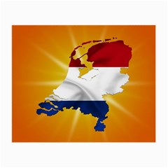 Holland Country Nation Netherlands Flag Small Glasses Cloth (2 Side) by Nexatart