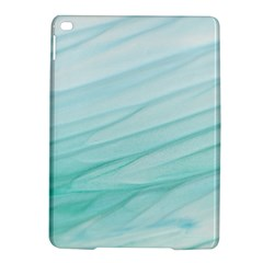 Blue Texture Seawall Ink Wall Painting Ipad Air 2 Hardshell Cases by Nexatart