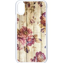 On Wood 1897174 1920 Apple Iphone X Seamless Case (white) by vintage2030