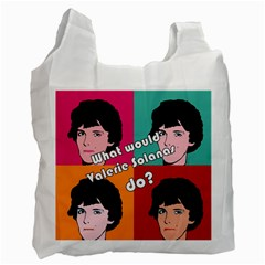Valerie Solanas Recycle Bag (one Side) by Valentinaart