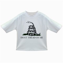 Gadsden Flag Don t Tread On Me Infant/toddler T Shirts by MAGA