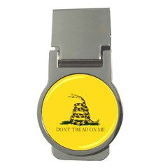 Gadsden Flag Don t Tread On Me Money Clips (round)  by gooomega