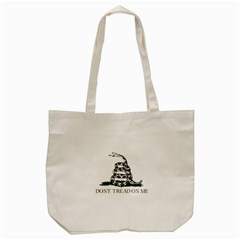 Gadsden Flag Don t Tread On Me Tote Bag (cream) by MAGA