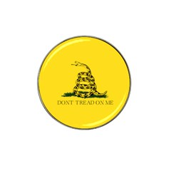 Gadsden Flag Don t Tread On Me Hat Clip Ball Marker (4 Pack) by gooomega