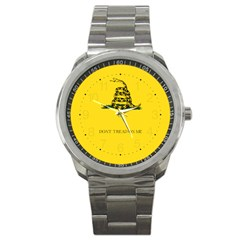 Gadsden Flag Don t Tread On Me Sport Metal Watch by MAGA
