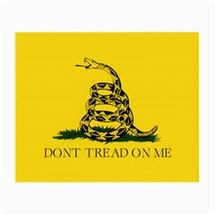 Gadsden Flag Don t Tread On Me Small Glasses Cloth (2 Side) by gooomega