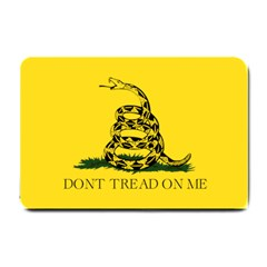 Gadsden Flag Don t Tread On Me Small Doormat  by MAGA