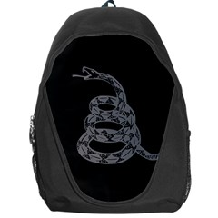 Gadsden Flag Don t Tread On Me Backpack Bag by MAGA