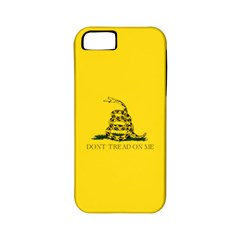 Gadsden Flag Don t Tread On Me Apple Iphone 5 Classic Hardshell Case (pc+silicone) by MAGA