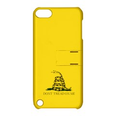 Gadsden Flag Don t Tread On Me Apple Ipod Touch 5 Hardshell Case With Stand by gooomega