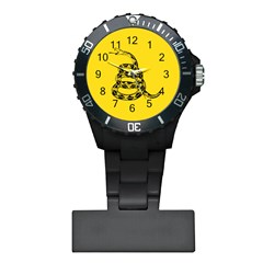 Gadsden Flag Don t Tread On Me Plastic Nurses Watch by gooomega