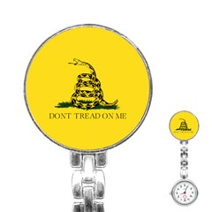 Gadsden Flag Don t Tread On Me Stainless Steel Nurses Watch by gooomega