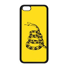 Gadsden Flag Don t Tread On Me Apple Iphone 5c Seamless Case (black) by MAGA